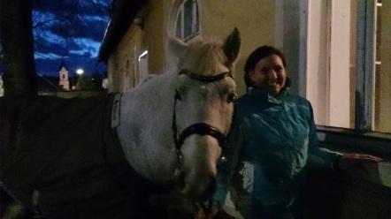 Jessi und das Nikolopferd :)